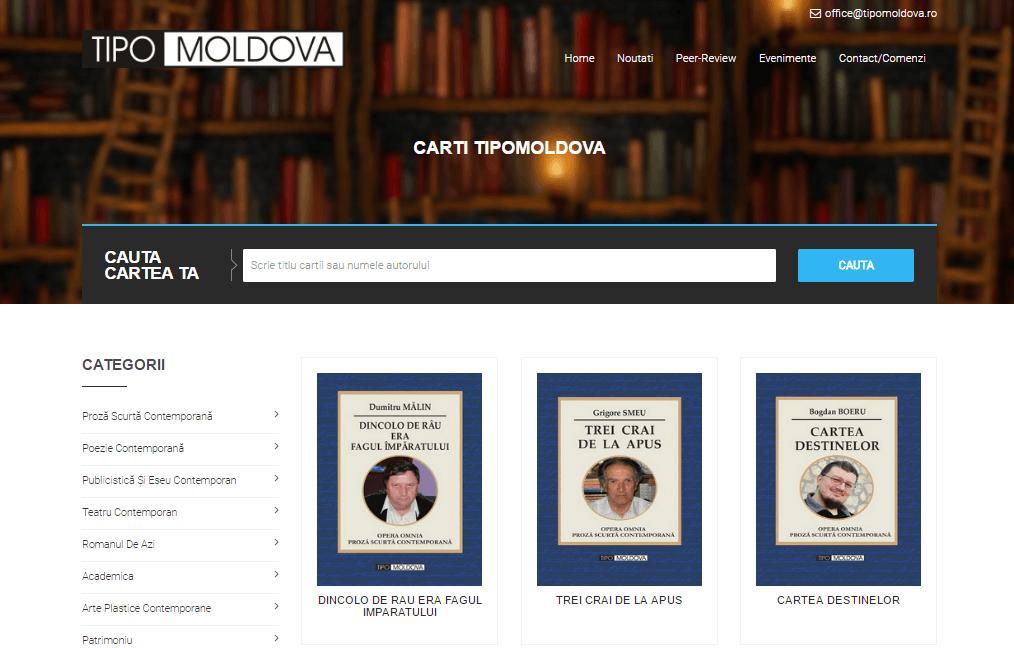 tipografia tipo moldova Iasi